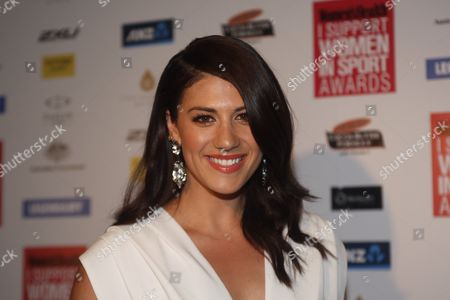 Australian Swimmer Stephanie Rice on the Red Carpet of the 'I Support Women in Sport' Awards in Sydney Australia 15 October 2013 Australia Sydney