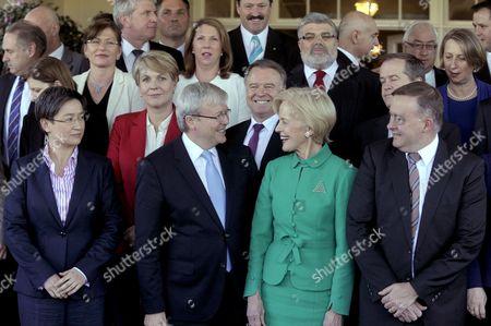 Editorial photo of Australia Labor Ministers Swearing in - Jul 2013
