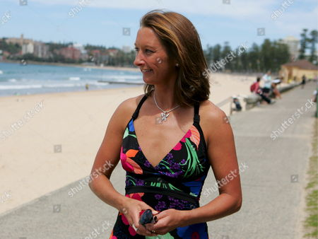 Layne Beachley the Most Successful Female Surfer of All Time Looks Over to the Ocean After She Announced Her Retirement in Sydney 10 October 2008 the 36-year-old Seven-time World Champion who Will Retire at the End of the 2008 Season Holds the Record For Most Number of Tour Victories with 29 Australia Sydney