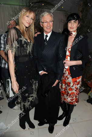 Jade Parfitt, Paul O'Grady and Erin O'Connor