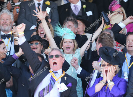 Trainer Gai Waterhouse (c) Reacts After Winning the Melbourne Cup with Her Horse Fiorente at the Melbourne Cup at Flemington Racecourse in Melbourne Australia 05 November 2013 Australia Melbourne