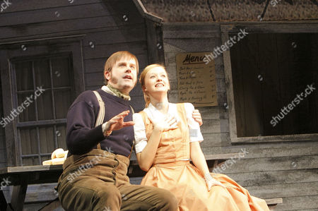 Alan Vicary (Enoch Snow) and Lauren Hood (Carrie Pipperage)