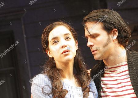 Stock Photo of Alexandra Silber (Julie Jordan) and Jeremiah James (Billy Bigelow)