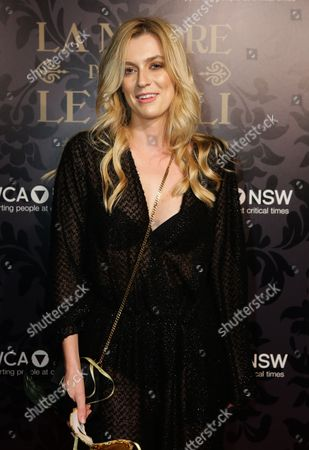 A Picture Made Available on 25 May 2014 Shows Australian Director Gracie Otto Attending the Ymca Mother of All Balls 2014 at Town Hall in Sydney New South Wales Australia 24 May 2014 the Fund Rising Event Supports Programs For Vulnerable Women Children and Their Families Australia Sydney