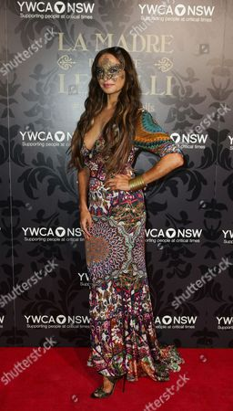 A Picture Made Available on 25 May 2014 Shows Australian Fashion Designer Camilla Franks Attending the Ymca Mother of All Balls 2014 at Town Hall in Sydney New South Wales Australia 24 May 2014 the Fund Rising Event Supports Programs For Vulnerable Women Children and Their Families Australia Sydney