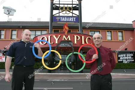 Editorial picture of Australia Olympic Rings Hotel Melbourne - Sep 2004