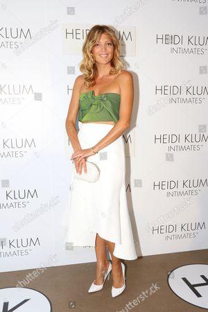 Croatian Born Sydney Based Blogger Tanja Gacic Arrives For the Global Launch of Heidi Klum Intimates at Bondi Icebergs in Sydney Australia 26 January 2015 Australia Sydney