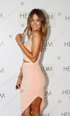 Australian Model Jesinta Campbell Arrives For the Global Launch of Heidi Klum Intimates at Bondi Icebergs in Sydney Australia 26 January 2015 Australia Sydney