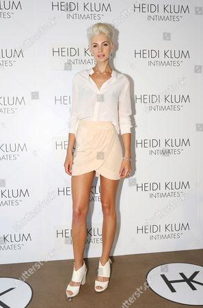 Australian Model and Tv Presenter Kate Peck Arrives For the Global Launch of Heidi Klum Intimates at Bondi Icebergs in Sydney Australia 26 January 2015 Australia Sydney
