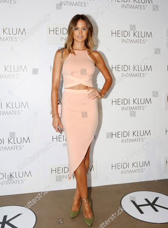 Stock Image of Australian Model Jesinta Campbell Arrives For the Global Launch of Heidi Klum Intimates at Bondi Icebergs in Sydney Australia 26 January 2015 Australia Sydney