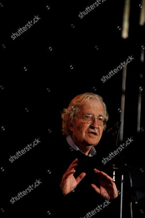 American Commentator Philosopher and Activist Noam Chomsky Speaks to Students During a Ceremony at Cabramatta High School in Cabramatta a Suburb of Sydney Australia 04 November 2011 Professor Chomsky Received the 2012 Sydney Peace Prize at a Ceremony on 03 November Australia Sydney