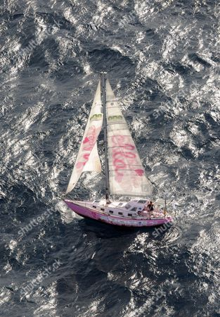 Teen Sailor Jessica Watson Sails Towards Sydney Australia at a Distance of 7 Nautical Miles on 15 May 2010 Watson who Has Spent Seven Months Alone at Sea Aboard Her Yacht Sails Into History After Sailing 23 000 Crossing 23 000 Nautical Miles (about 38 000km) in 210 Days Australia Sydney