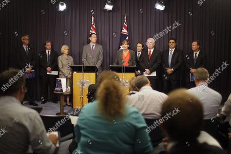 Editorial picture of Australia Sports Doping Presser - Feb 2013