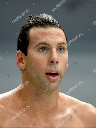 Grant Hackett After Competiting in the Men's 200m Freestyle Final at the Australian Swimming Championships in Sydney Australia on Sunday April 05 2015 Australia Sydney