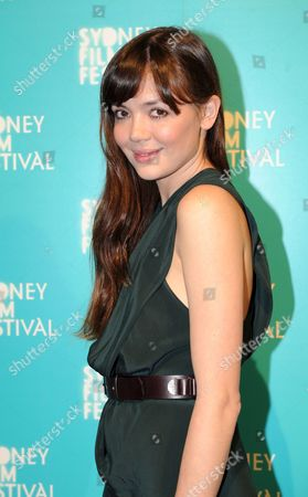 Stock Image of Australian Actress Emma Lung Arrives at the Opening Night of the Sydney Film Festival in Sydney Australia on 03 June 2009 the Festival is One of the World's Longest Running Film Festivals Australia Sydney