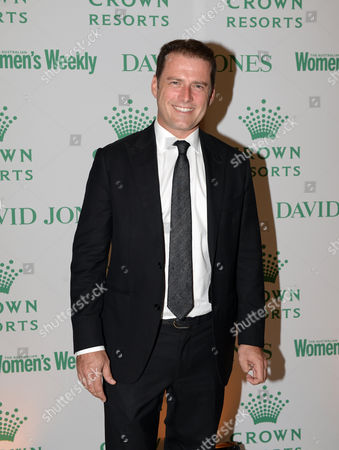 Stock Photo of A Picture Made Available 18 November 2014 Shows Australian Tv Presenter Karl Stefanovic Arriving at the Crown Resorts Autumn Ladies Luncheon to Celebrate Sydney's Autumn Racing Carnival in Sydney Australia 04 April 2014 According to Media Reports on 18 November 2014 Stefanovic Has Been Wearing the Same Suit During His Appearences in the Today Show For a Year in Order to Prove That Viewers Are More Likely to Discuss His Female Colleague's Clothing Than His Own Australia Sydney
