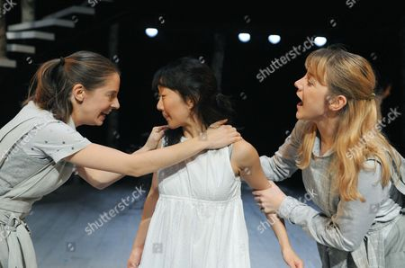 Kelly Williams, Liz Chan (Cinderella) and Katherine Manners