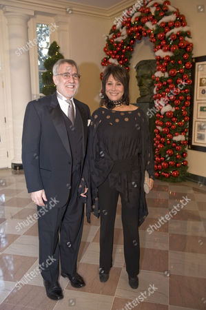 Editorial image of 31st Annual Kennedy Center Honours reception, White House, Washington DC, America  - 07 Dec 2008
