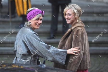 Princess Astrid and daughter