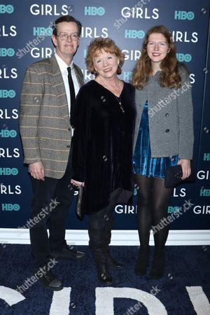 Stock Photo of Dylan Baker, Becky Ann Baker and daughter Willa Baker