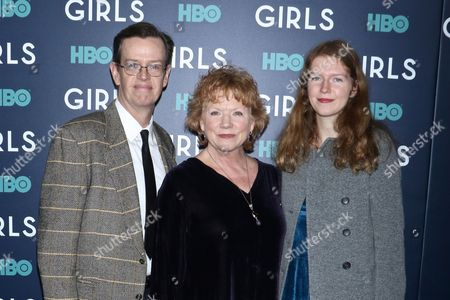 Stock Picture of Dylan Baker, Becky Ann Baker and daughter Willa Baker
