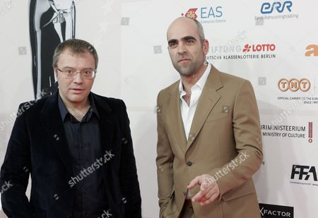 Spanish Actor Luis Tosar (r) and Spanish Film Director Daniel Monzon (l) Arrive at the 23rd European Film Awards Ceremony at the Solaris Centre's Nokia Concert Hall in Tallinn Estonia 04 December 2010 Spanish Actor Luis Tosar is Nominated For the Europan Actor 2010 Award For His Interpretation in the Film Celda 211 (cell 211) the European Film Awards 2010 Are Presented by the European Film Academy in the Estonian Capital on the Baltic Coast in Connection with Its Status As European Capital of Culture in 2011 Estonia Tallinn