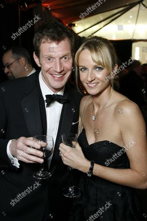 Jason Flemyng and wife Elly Fairman