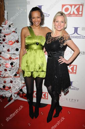 Editorial image of OK Magazine Editorial Christmas Party held at the Living Room, London, Britain - 08 Dec 2008