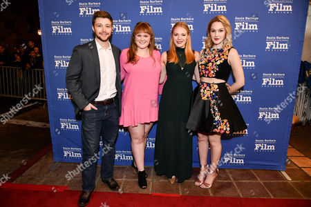 Sterling Knight, Emma Bell, Morgan Dameron and Hope Lauren
