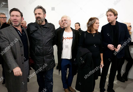 Stock Picture of Mat Collishaw, Keith Tyson, Tim Noble and Tracey Emin