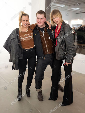 Alice Dellal, Joe Sweeney and Edie Campbell