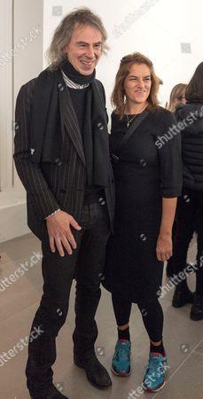 Stock Image of Ivor Braka and Tracey Emin