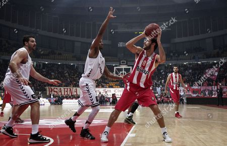 Editorial photo of Greece Basketball Euroleague - Jan 2013