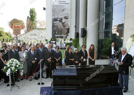 Editorial photo of Greece Cacoyannis Funeral - Jul 2011