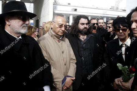 Editorial picture of Greece Demis Roussos Funeral - Jan 2015