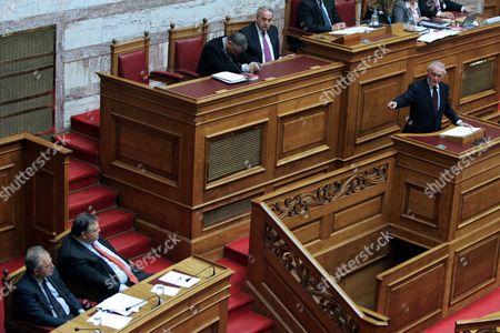 Editorial picture of Greece Parliament Sub-marine Affair - Apr 2011