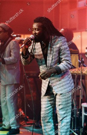 Stock Image of 'The Tube' - The Taxi Tour - Freddie McGregor