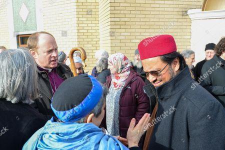 Revd Rob Wickham Bishop of Edmonton, Rabbi Laura Naomi Janner-Klausner Imam Ajmal Masroor