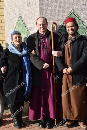 Rabbi Laura Naomi Janner-Klausner, Revd Rob Wickham Bishop of Edmonton, Imam Ajmal Masroor