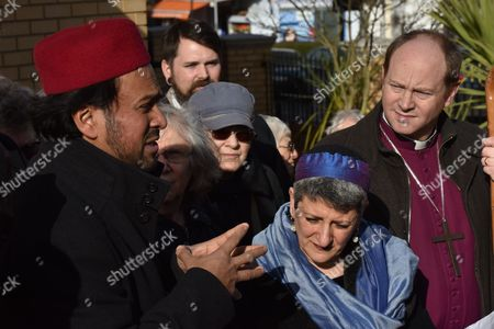 Imam Ajmal Masroor, Rabbi Laura Naomi Janner-Klausner, Revd Rob Wickham Bishop of Edmonton