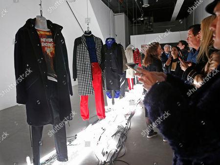 Editorial photo of Fashion Mens Tim Coppens, New York, USA - 02 Feb 2017