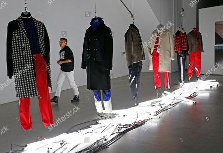 Editorial image of Fashion Mens Tim Coppens, New York, USA - 02 Feb 2017