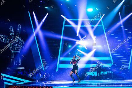 Stock Image of Shakira Lueshing performs Freak of the Week by Krept & Konan.