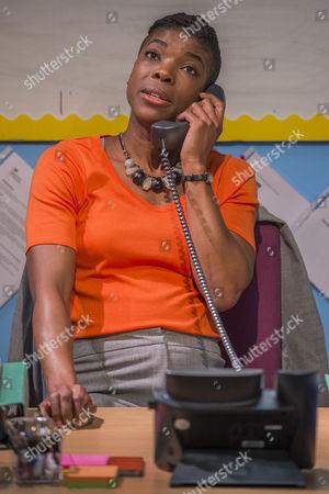 Ann Ogbomo (Jo, headteacher) Arts Council.