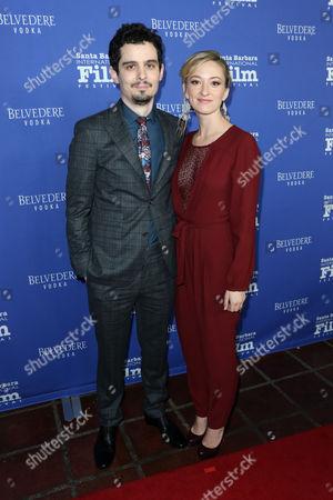 Stock Photo of Damien Chazelle and Jasmine McGlade