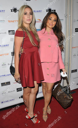 Stock Photo of Natalie Parry and Sienna Myson-Davies
