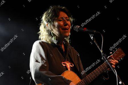 Stock Photo of Martha Wainwright in concert at O2 ABC Glasgow