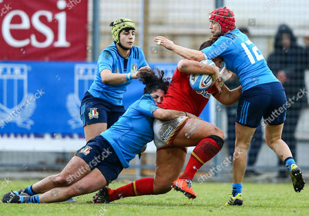 Editorial photo of Women's Six Nations Championship Round 1, Stadio Comunale Pacifico Carot, Ancona, Italy  - 04 Feb 2017