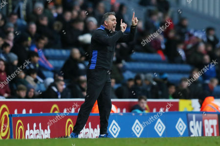Blackburn Rovers manager Owen Coyle during the Sky Bet Championship between Blackburn Rovers and QPR played at the Ewood Park, Blackburn on 3rd February 2017