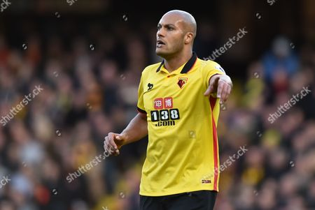 Younes Kaboul of Watford during the Premier League match between Watford and Burnley played at Vicarage Road, Watford on 4th February 2017